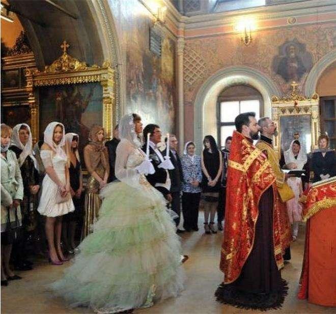 венчание диброва и полины фото