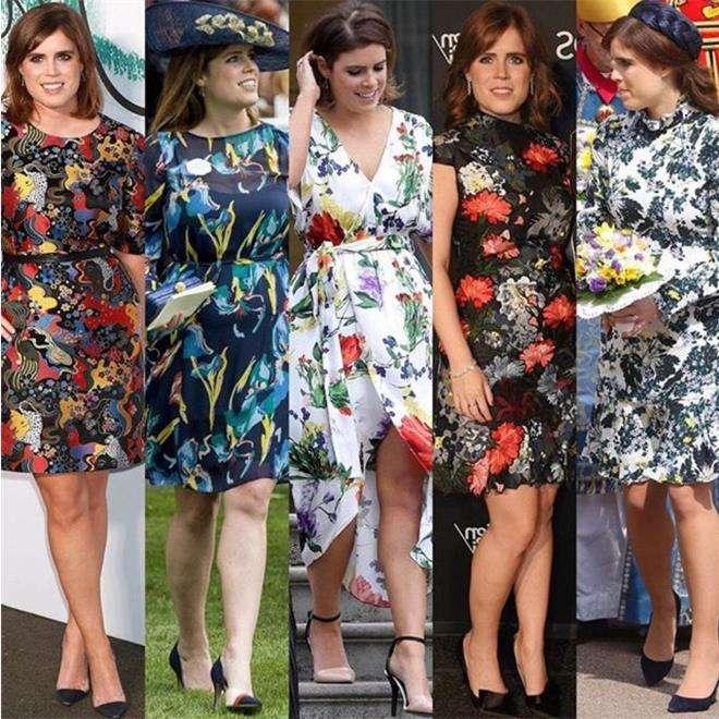 Принцесса Евгения предпочитает платья с цветочным принтом